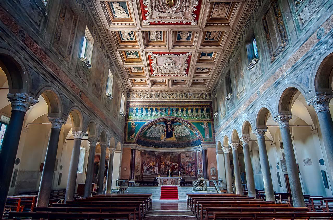 Giuseppe Sapori - Santa Maria in Domnica Basilica