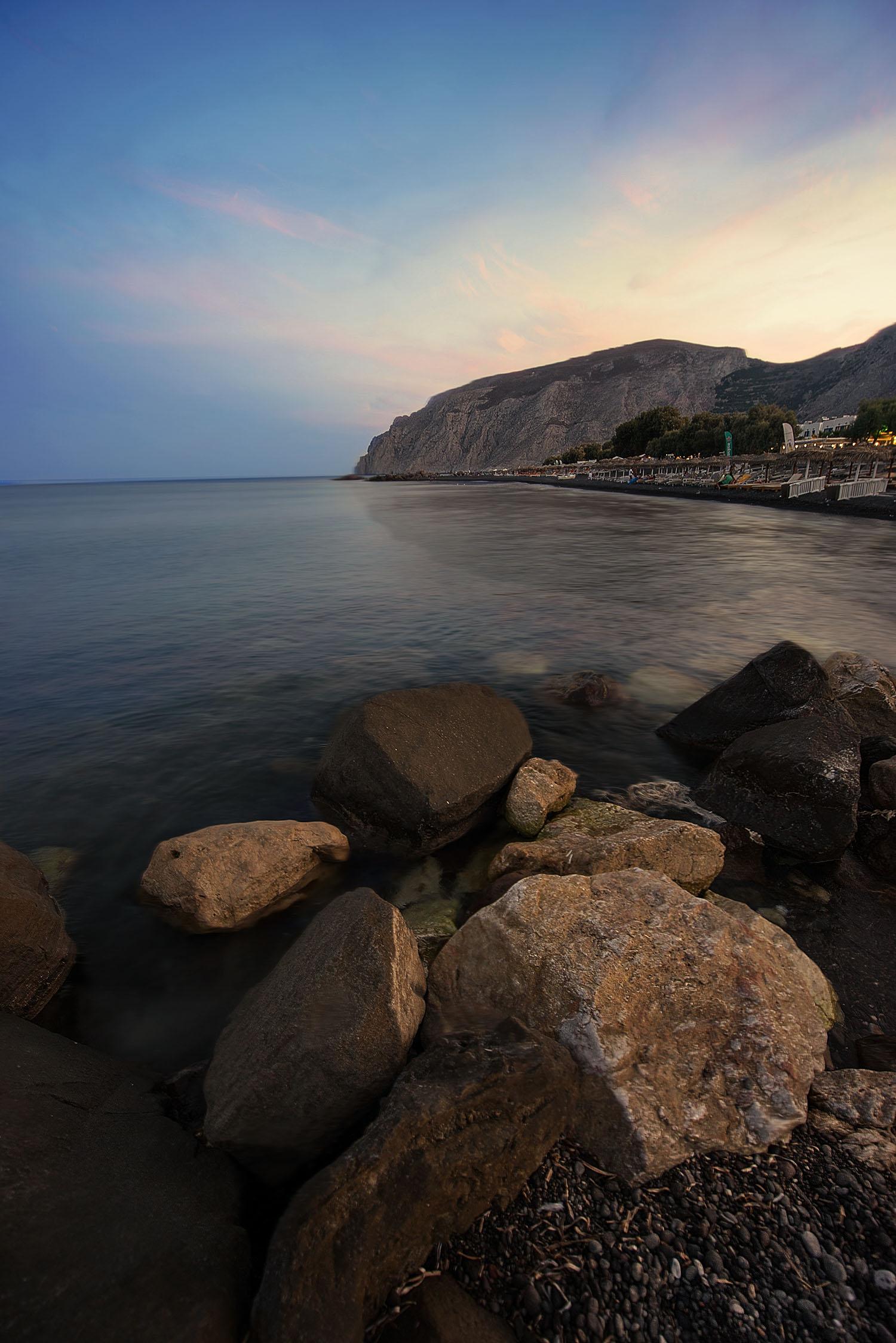 Giuseppe Sapori - The Rocks sunset