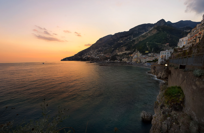 Giuseppe Sapori - Coastal Sunset